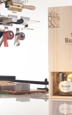 More than an iconic Ruinart bottle