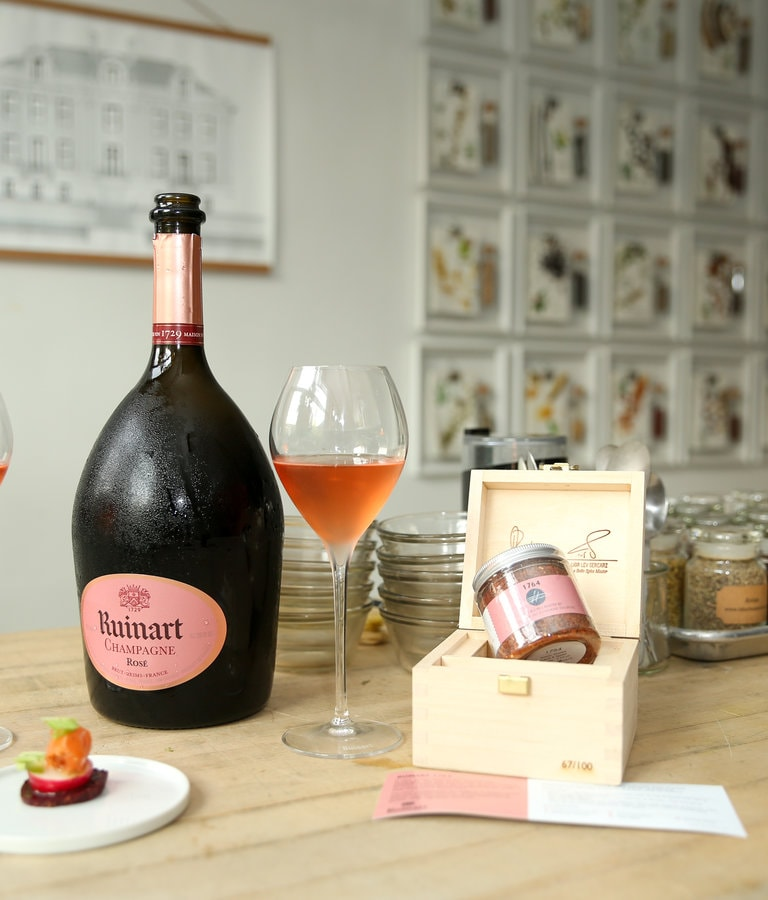 The Secret To The Perfect Food Pairing With Ruinart Rosé Ruinart